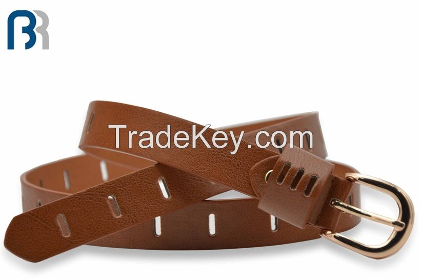 Ladies Hollow Out PU Belt