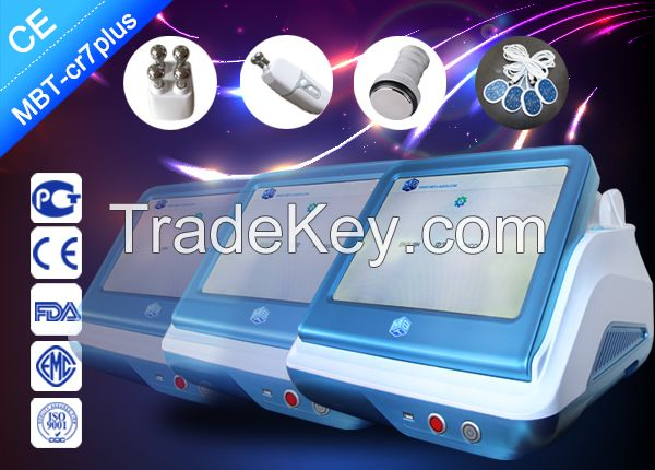 Fat Freeze Vacuum Cavitation Slimming Machine , Cryolipolysis Weight Loss Equipment