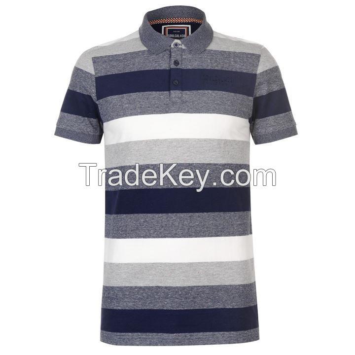 Yarn Dyed Polo Shirt