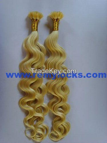 Remy I-tip hair/stick hair