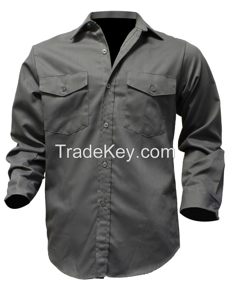 Poly Cotton Work Shirt 65% Polyester/35% Cotton