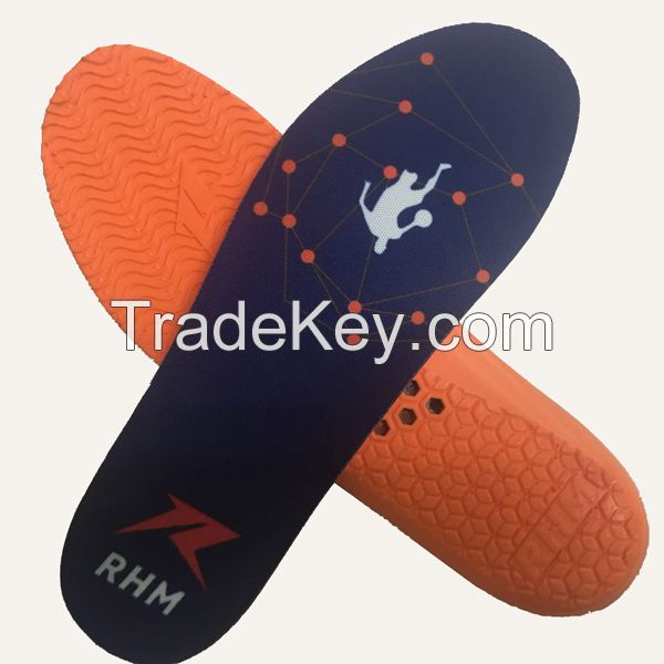 high shock absorption sports shoe insole shoe pad