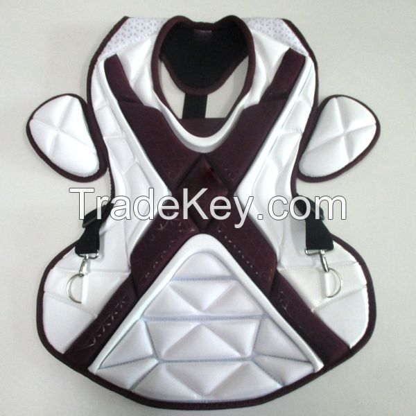 baseball chest protector chest pad double knee let guard