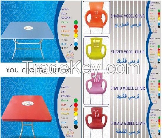 plastic furniture , plastic chairs plastic tables