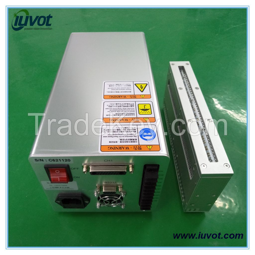 Iuvot linear light curing system high power 385nm uv led