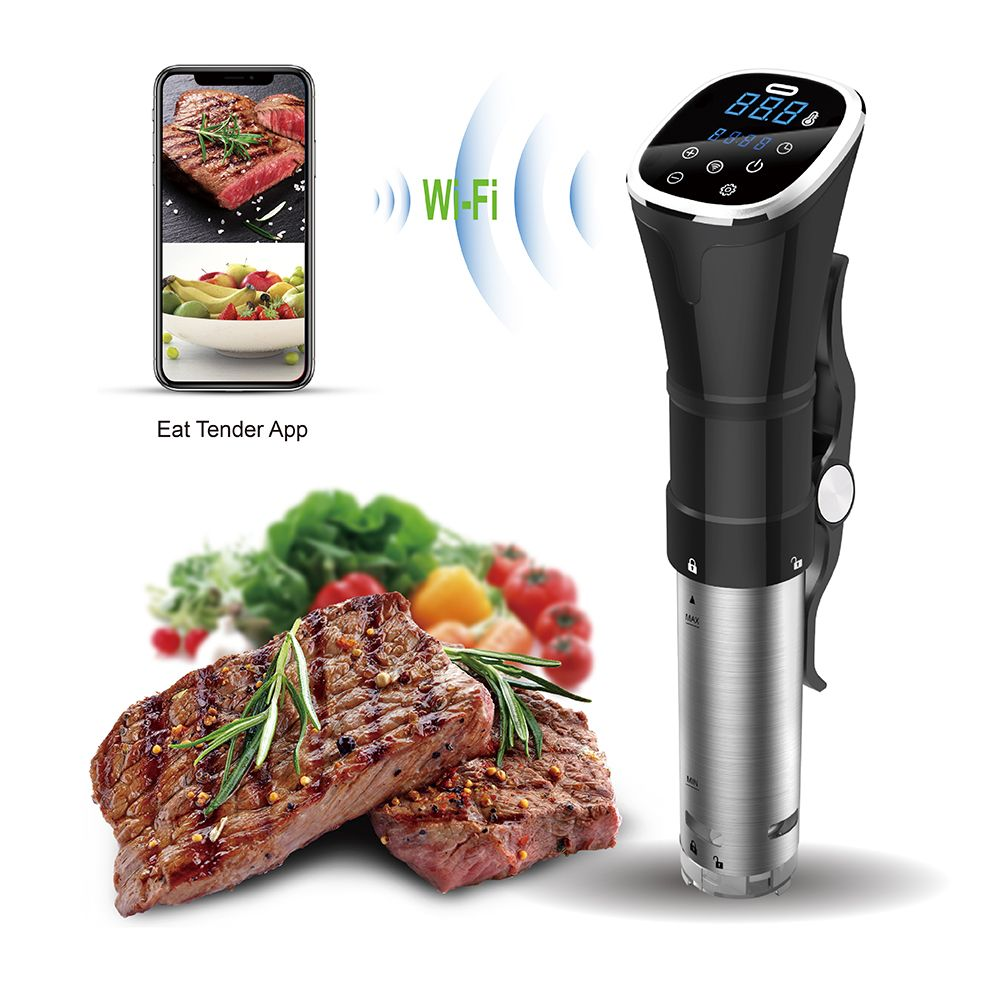 Sea-maid 2018 new design Slow Thermal Circulator Sous vide precision Cooker with WIFI bluetooth and waterproof