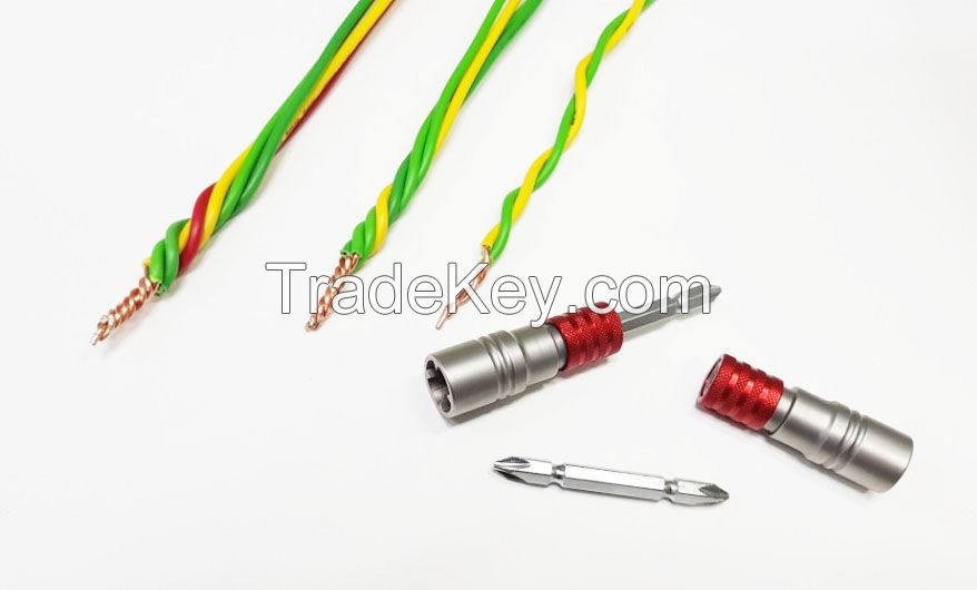 Wire twisting tool for elecricians and construction companies (T-Line)