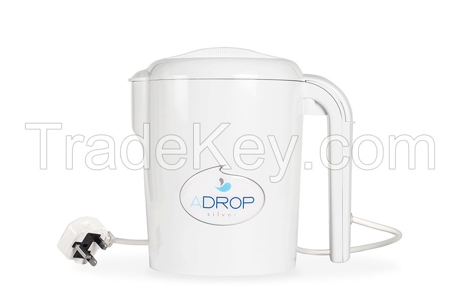 ADROP Silver portable water ioniser