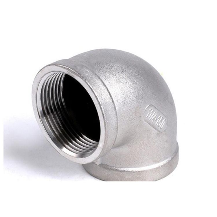90 Degree gi Pipe Fittings bend Elbow For Pipelines
