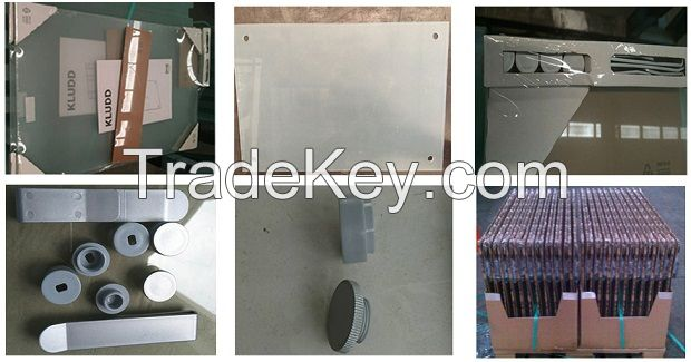 SGCC,CE,CSI certification of toughened printed glass show board