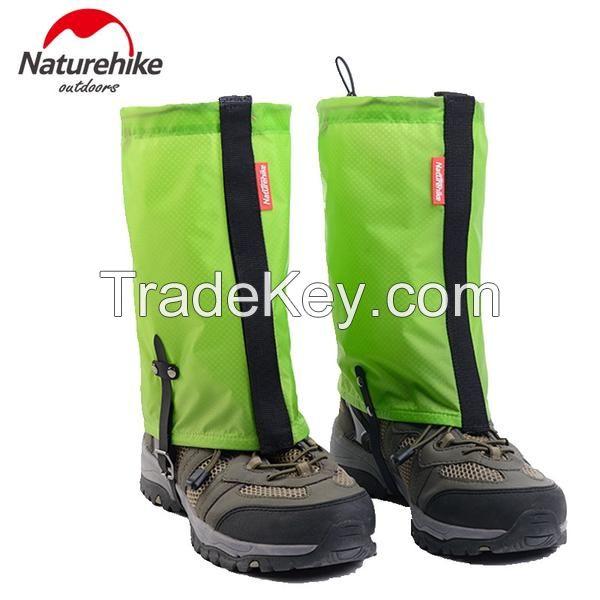 Naturehike Silicone Nylon Snow Gaiters Ultralight Legging Gaiter Waterproof Hiking Camping Climbing Trekking Thin Anti-Tear 95g