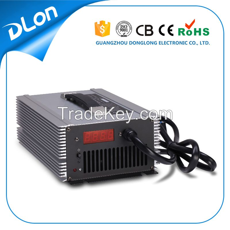60v 72v 20a lead acid battery charger with led display