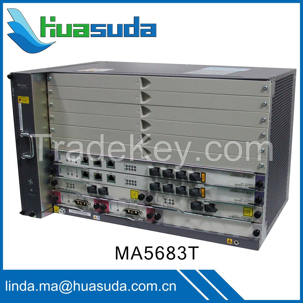 Huawei MA5600T MA5680T GPON EPON OLT 10G PON equipment Ethernet P2P optical access FTTx network