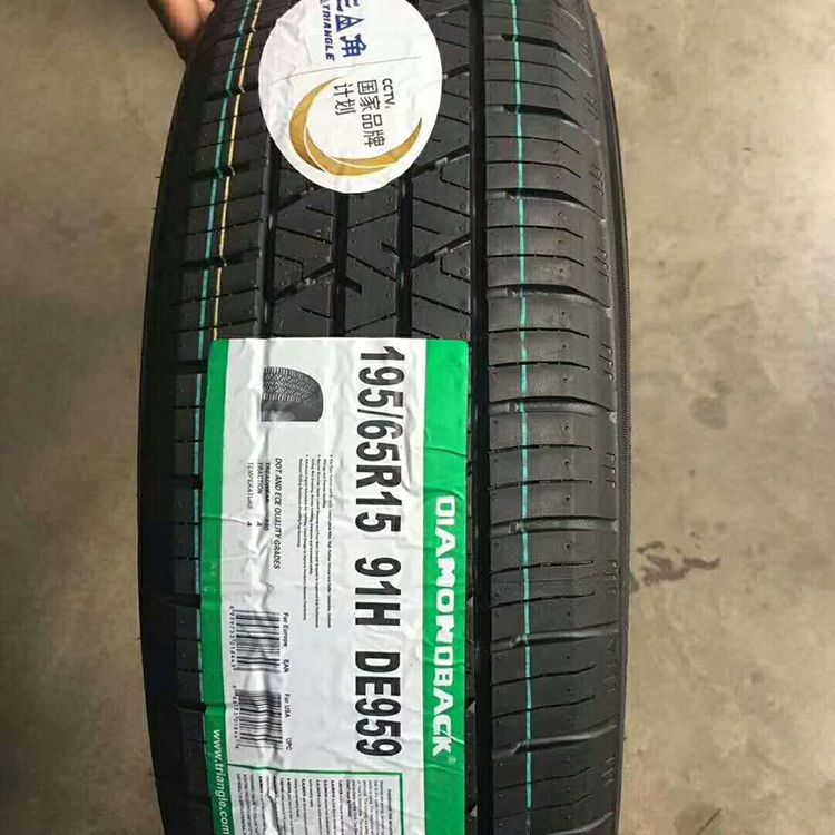 Triangle brand car tires for sale in bulk with low price
