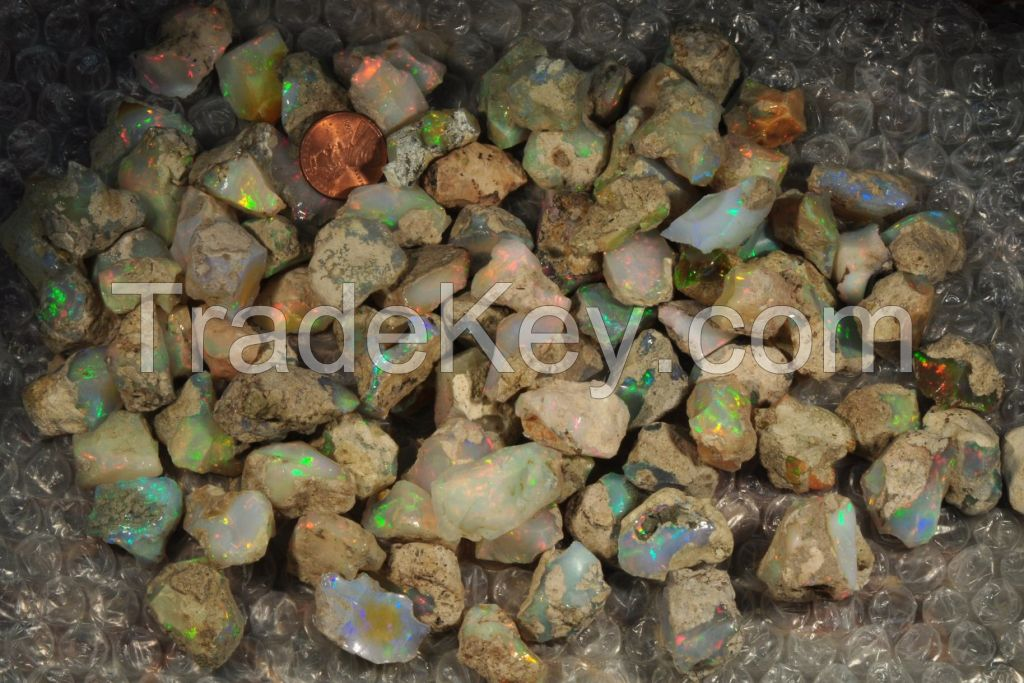 Ethiopian welo rough opal