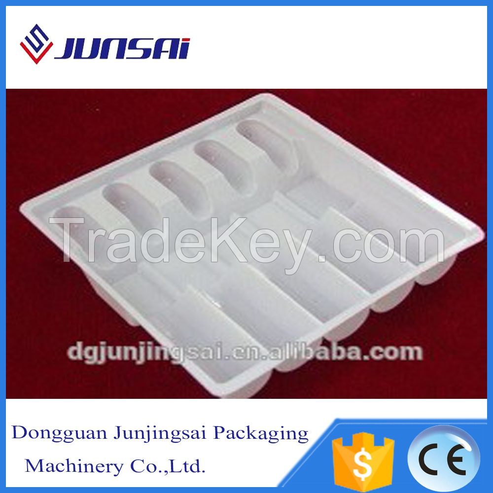 Automatic plastic disposable food container making machine