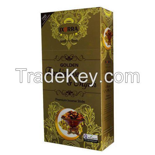 Golden Frankincense and Myrrh Incense Stick