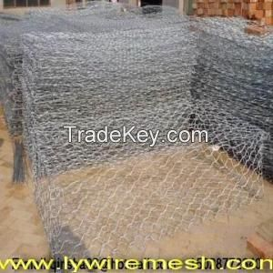 galvanized Gabion wire mesh /galvanized gabion box /galvanized gabion basket