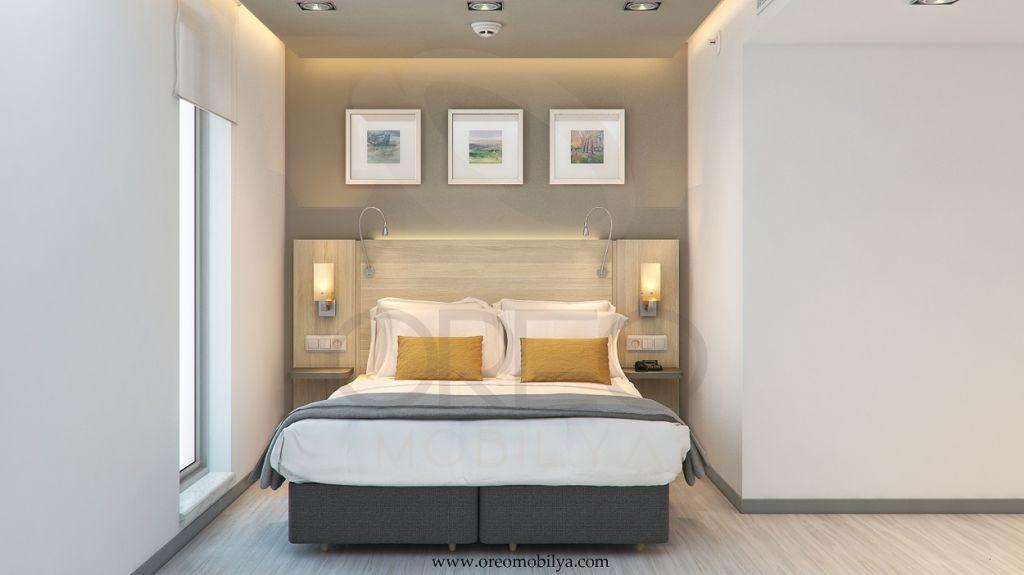 Minimal Hotel Room