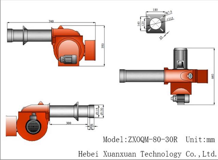 Light and Heavy / Waste oil burner, Gas(CNG,LPG) Burner for Boiler
