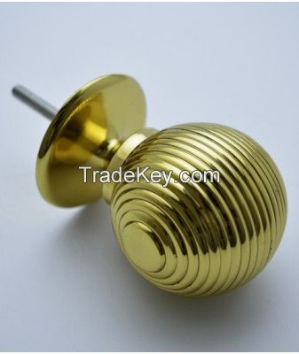 Reeded Orb Finial 38mm To Suit 38mm Tube