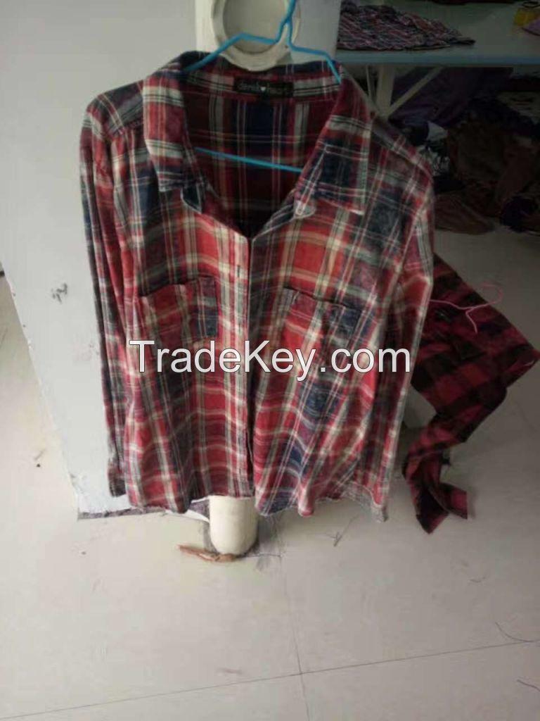 Lady long sleeve shirts