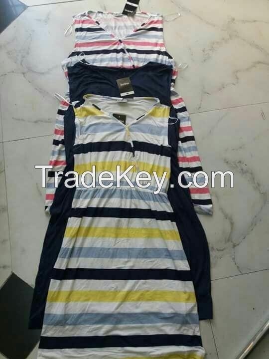 lady summer knit dress