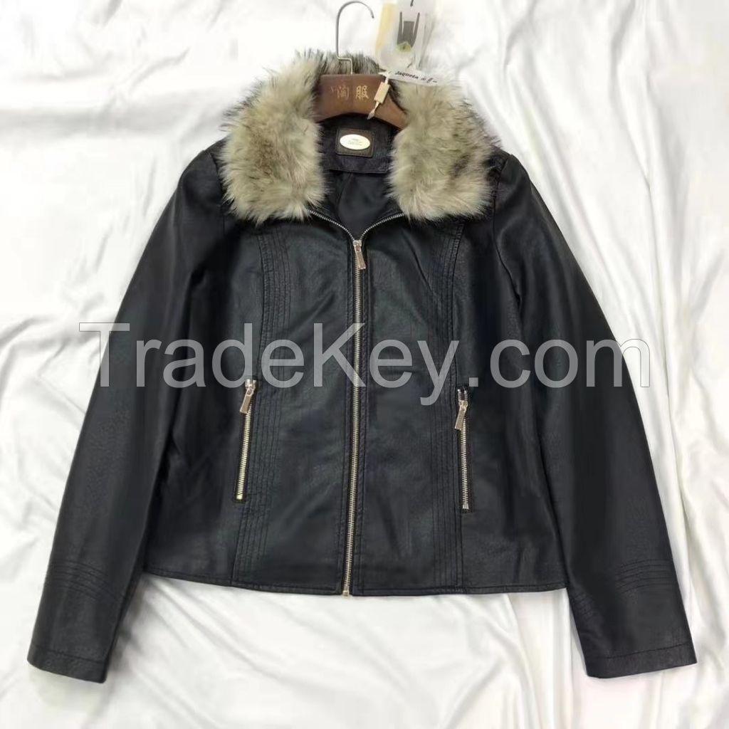 Ladys pu jacket
