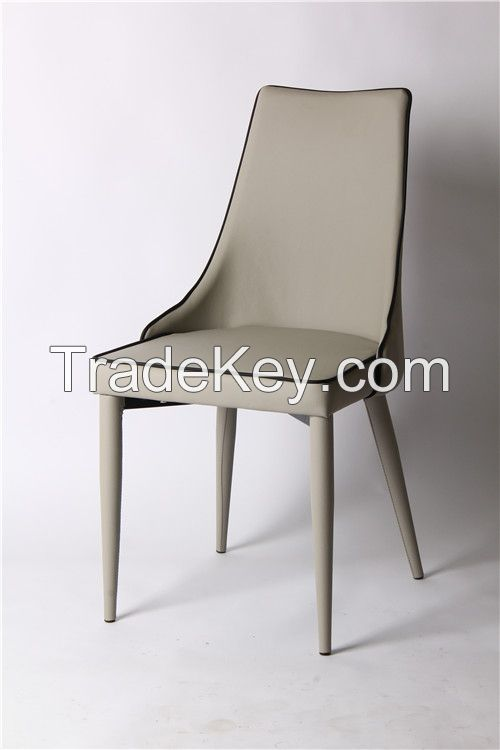 modern leather dining chair EGC-2005