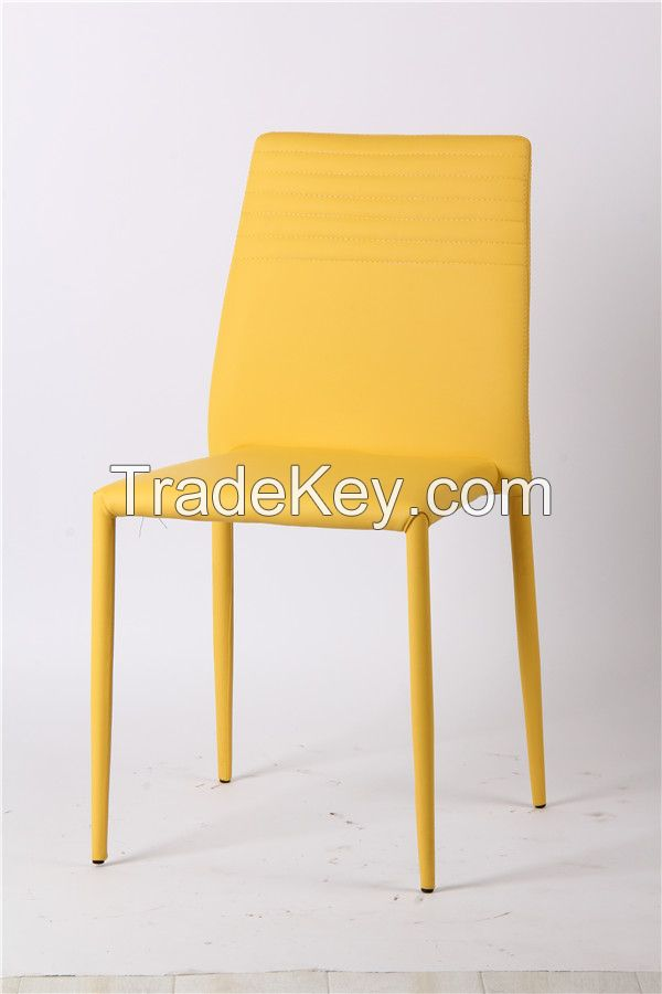 Home furniture cheap chair stackable easy handling chair EGC-2009