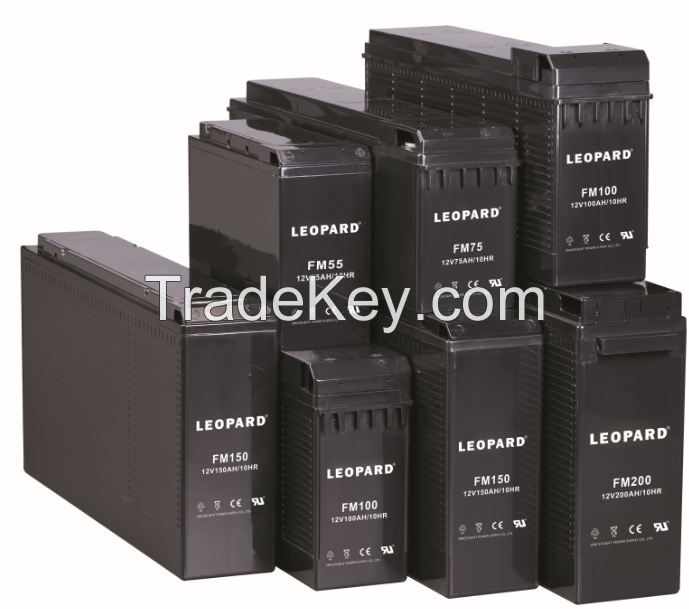 FRONT TERMINAL BATTERY with 10+ years design life