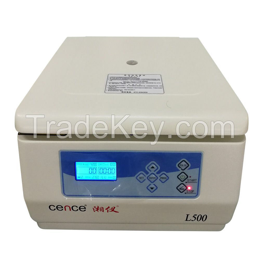 L500 Tabletop Low Speed Centrifuge