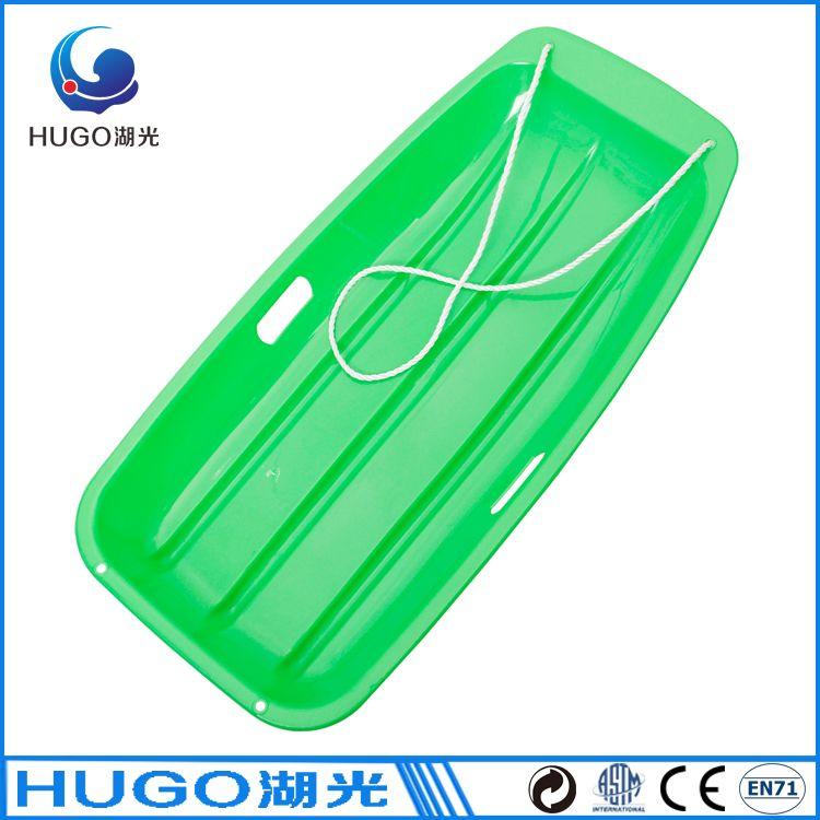 35 inch -38 degree HDPE plastic toboggan snow sleds