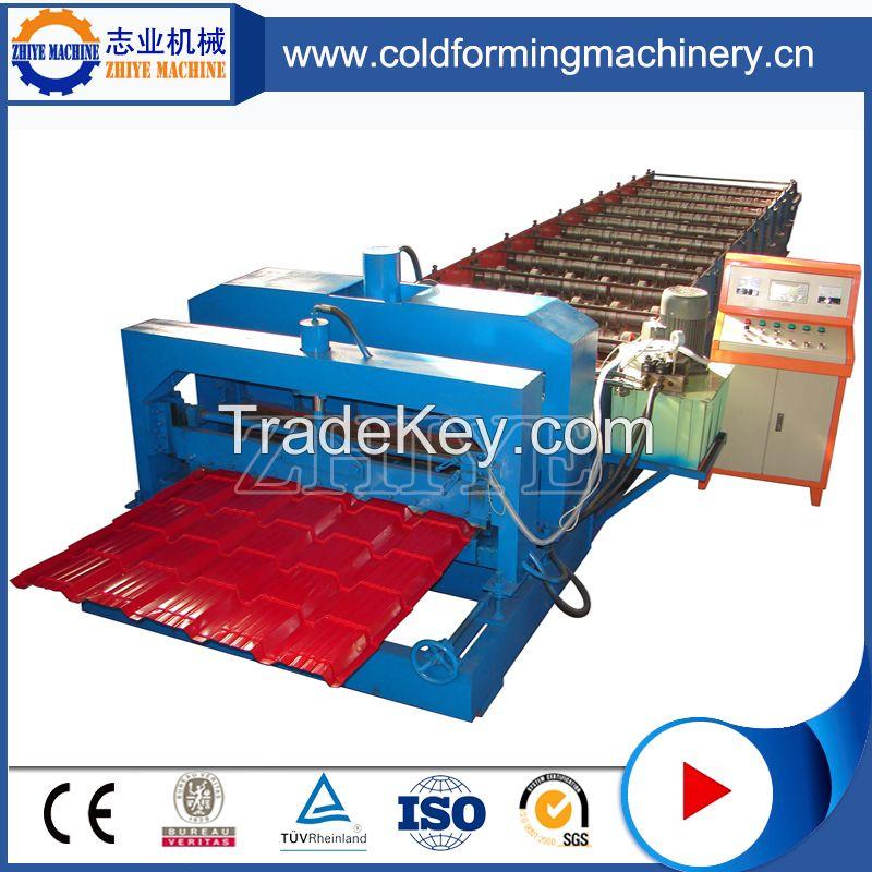 ZhiYe Glazed Tiles Making Machine CE Standard Aluminium