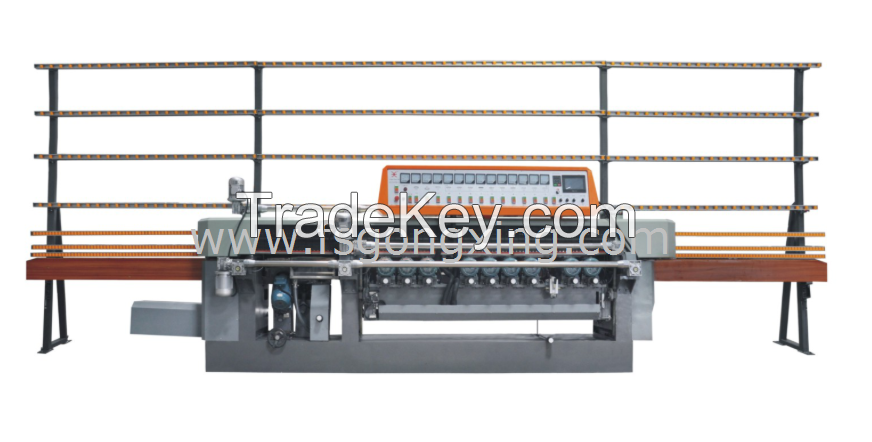 Glass Beveling and Edging Integrated Machine