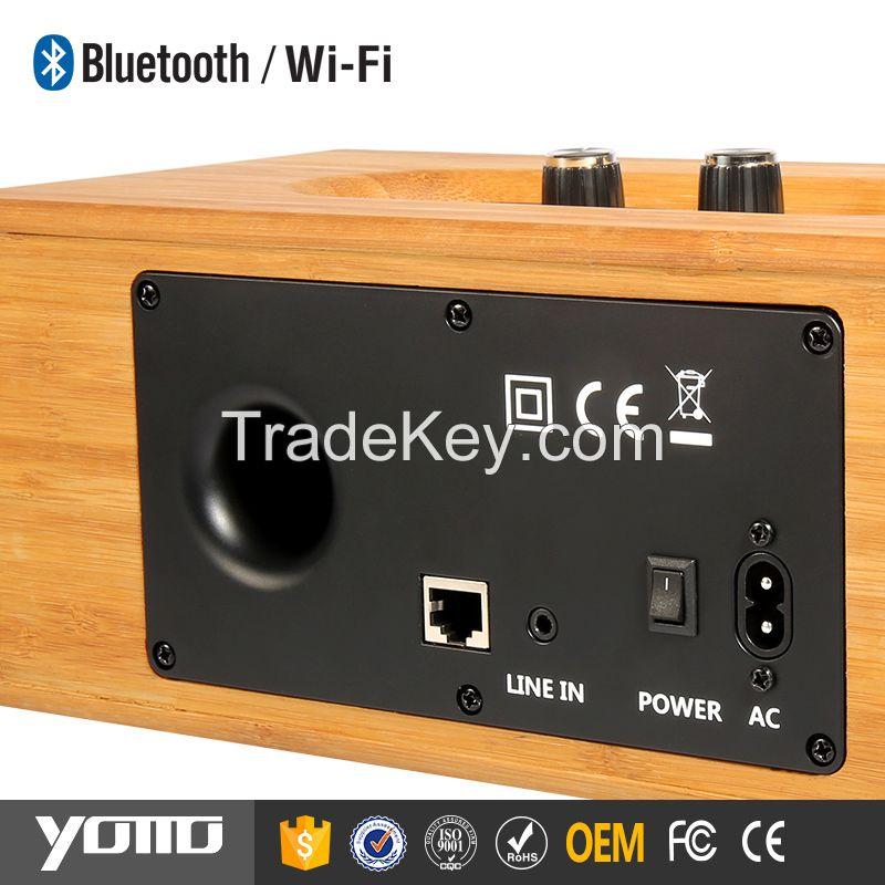 2.0-ch computer speakers wooden Bluetooth speaker 2.0 speaker