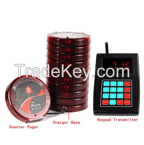 wireless pager, calling system for restaurant