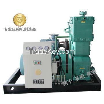 Natural gas booster compressor