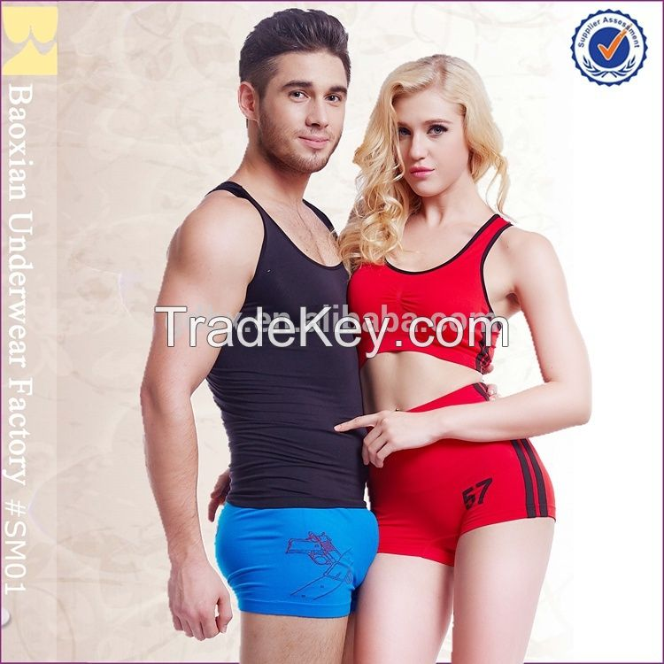 men seamless underwear man boys boxer briefs panty from china factory Manufacturer