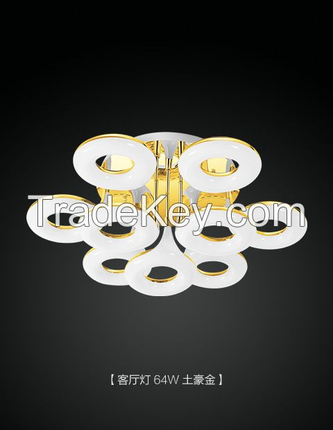Silver LED Golf shape Ceiling Lights