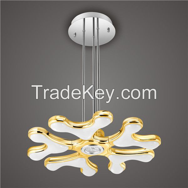 Silver Lucky Star Style LED Pendant Lights