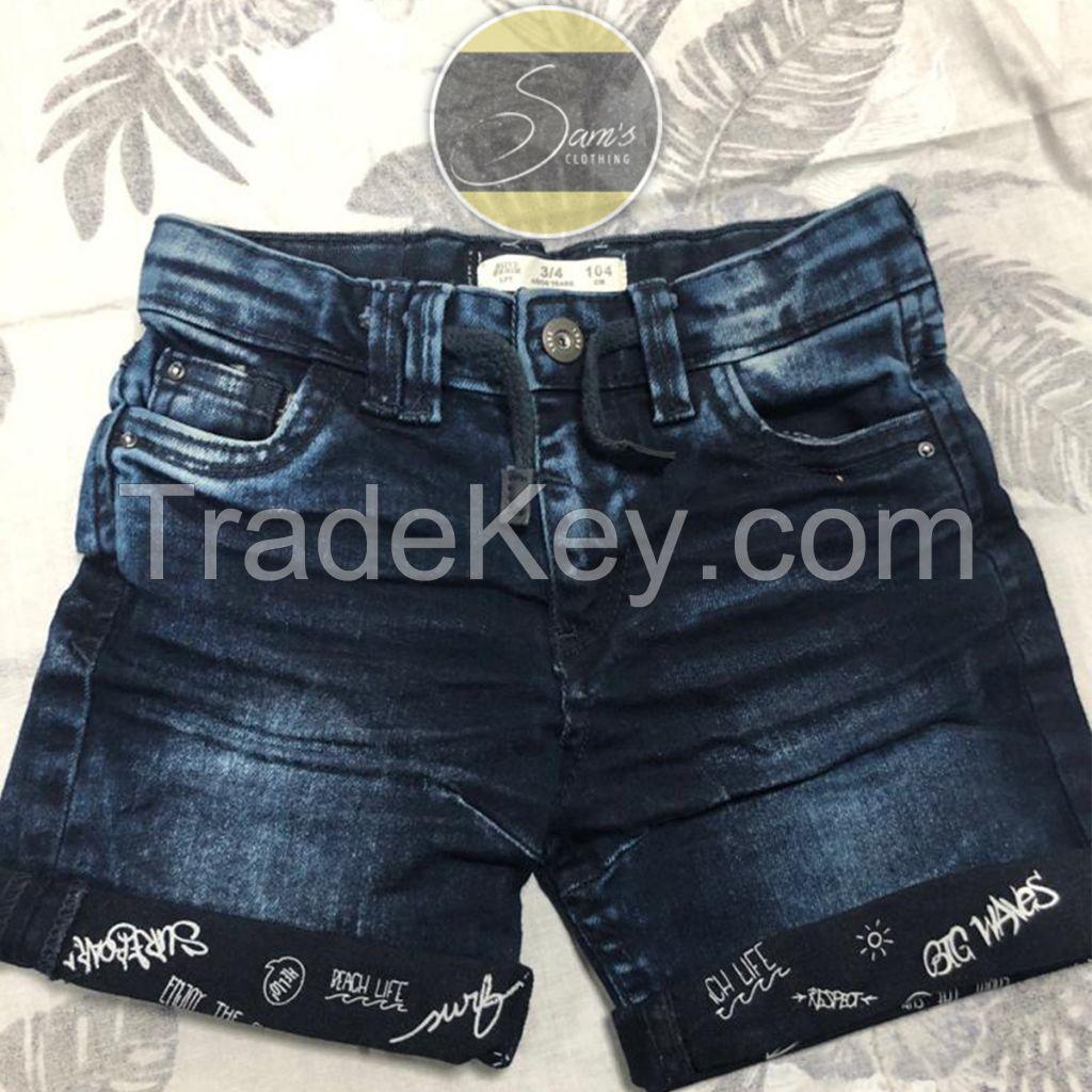 Pure Denim Shorts 002