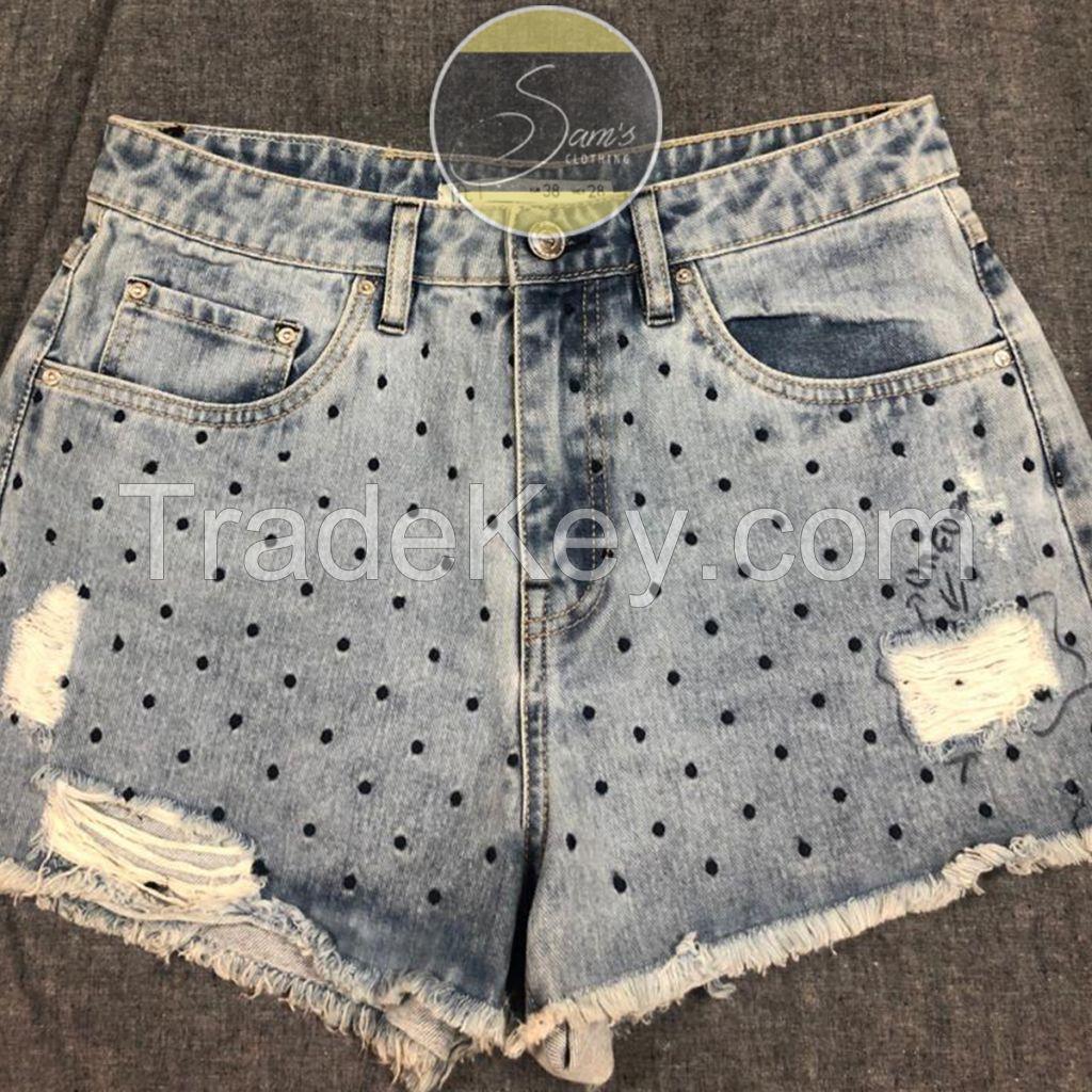 Pure Denim Shorts 004