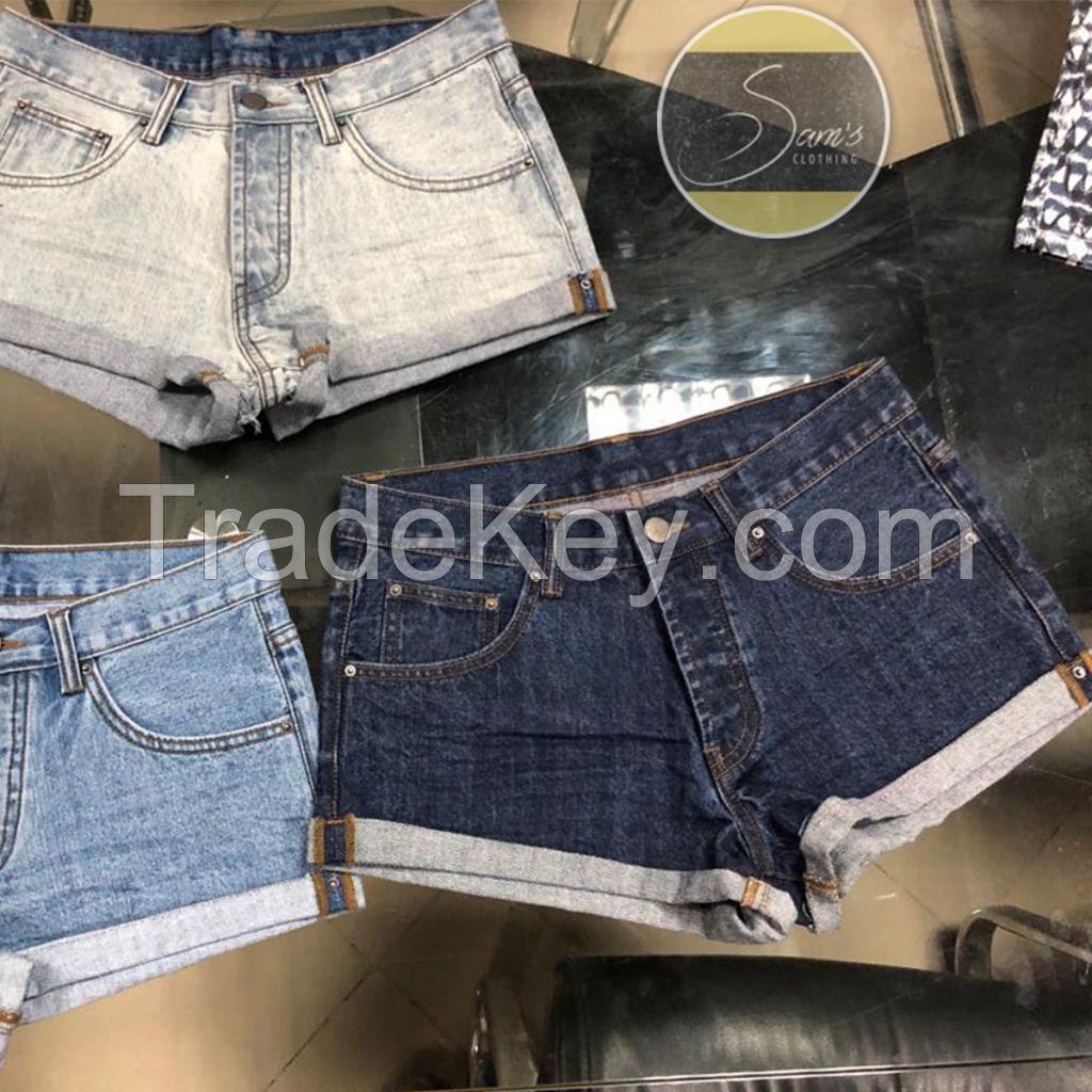 Pure Denim Shorts 006