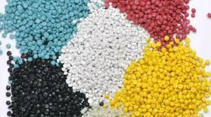 Multipie color pp particulates