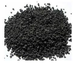 PVC rubber particles