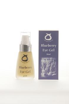 Organic bluebery eye gel