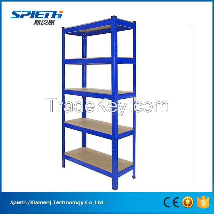 European warehouse storage galvanized boltless shelving system