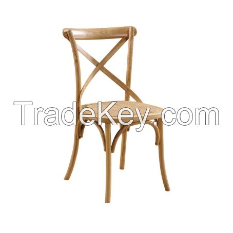 Industrial style metal hotel chair