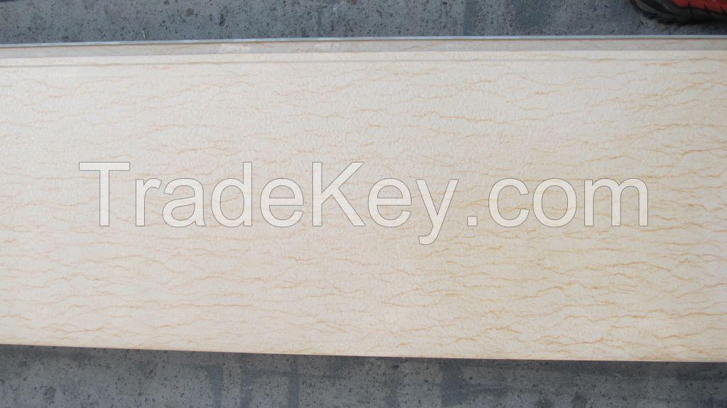 Alum-Zinc Coated Metallic Decorative Colorful  Wall Panel